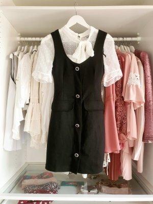 Zara Kleid schwarz Schmuckknöpfe S