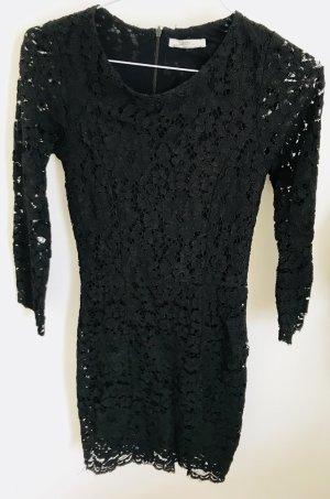 ZARA Kleid schwarz spitze S