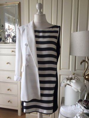 Zara Kleid schwarz weiß gestreift Uni Gr. L neu mit Etikett
