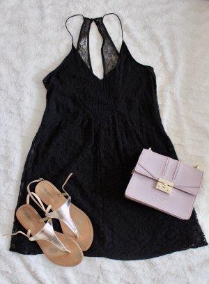Zara Kleid Spitze schwarz
