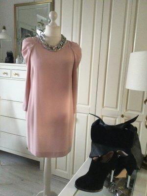 Zara Kleid Statementärmel rosé Gr. L neu mit Etikett