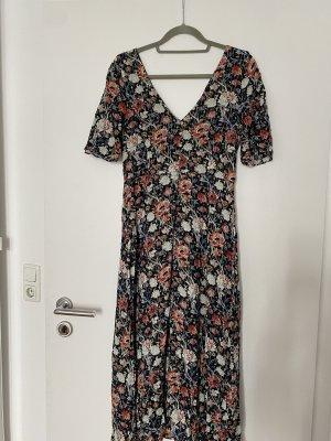 Zara kleid TRF Blumen midi Kleid Gr. L floral