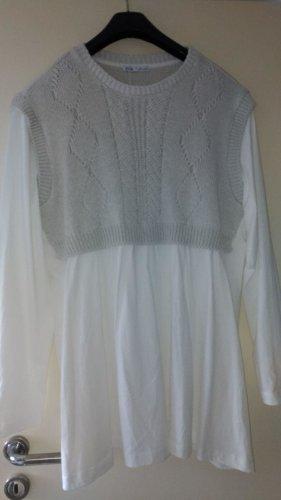 Zara - Kleid-Tunika mit Strick