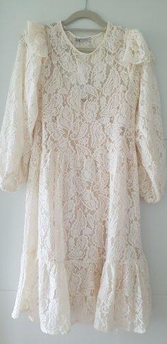 Zara Kleid Weiß Boohoo Gr S