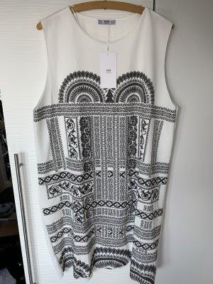 Zara Kleid weiß gemustert