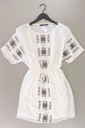 Zara Kleid weiß Größe S
