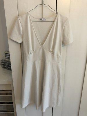 Zara Kleid weiß Sommer