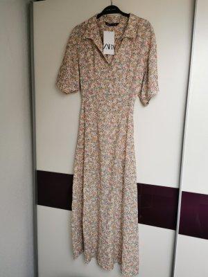 Zara kleid xs  hemdblusenkleid