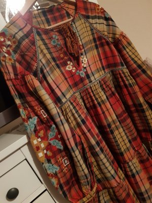 Zara Babydoll-jurk veelkleurig