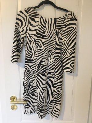 ZARA Kleid Zebra Optik Gr.S wie neu