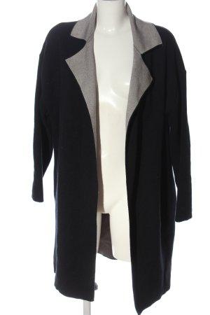 Zara Knit Blusenjacke schwarz Casual-Look