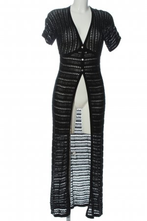 Zara Knit Blouse Jacket black elegant