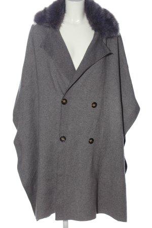 Zara Knit Mantella grigio chiaro stile casual