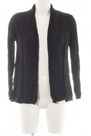 Zara Knit Cardigan schwarz Business-Look