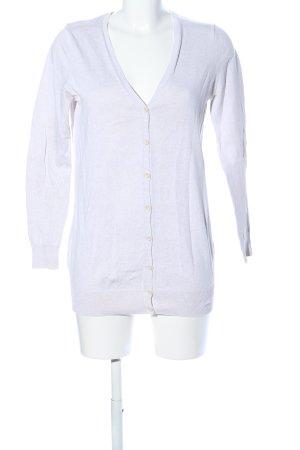 Zara Knit Cardigan weiß Business-Look