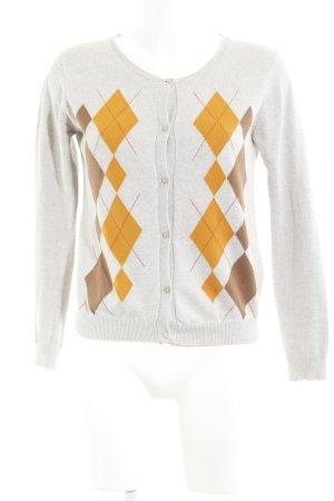 Zara Knit Cardigan mehrfarbig Business-Look