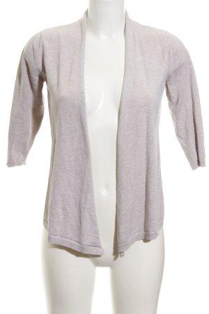 Zara Knit Cardigan beige Casual-Look