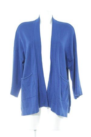 Zara Knit Cardigan blau
