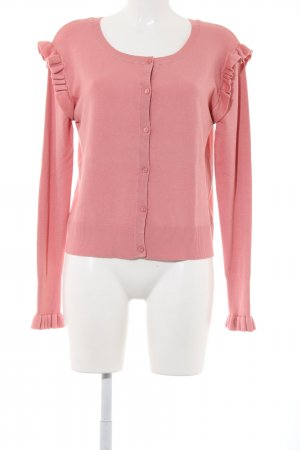 Zara Knit Cardigan pink Casual-Look