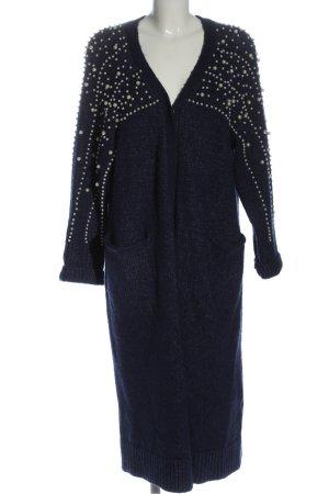 Zara Knit Cardigan blau Webmuster Casual-Look