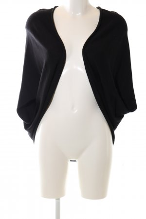 Zara Knit Cardigan schwarz Casual-Look
