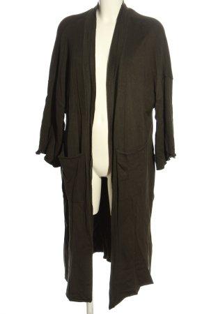 Zara Knit Cardigan khaki Casual-Look