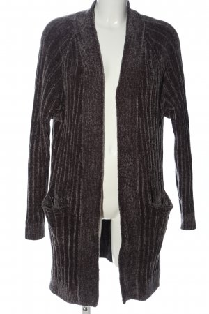 Zara Knit Cardigan braun Casual-Look