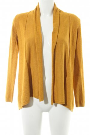 Zara Knit Cardigan goldorange Casual-Look