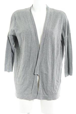 Zara Knit Cardigan grau Casual-Look