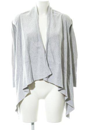 Zara Knit Cardigan hellgrau Casual-Look