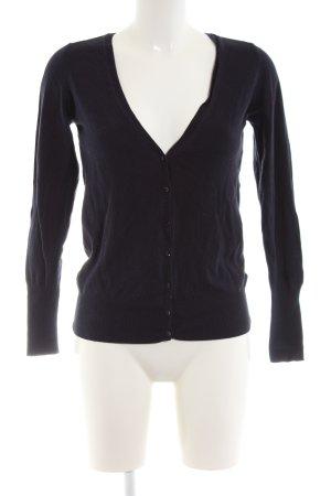 Zara Knit Cardigan black casual look