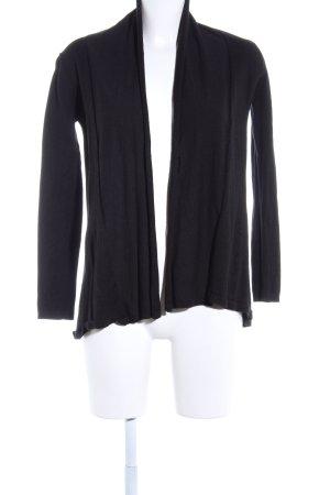 Zara Knit Cardigan schwarz Casual-Look keine Textilangabe