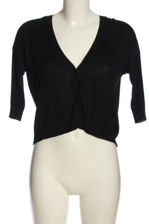Zara Knit Cardigan schwarz Elegant