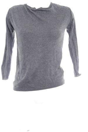 Zara Knit Cardigan schwarz-grau florales Muster Casual-Look
