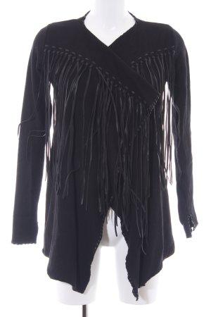 Zara Knit Cardigan schwarz