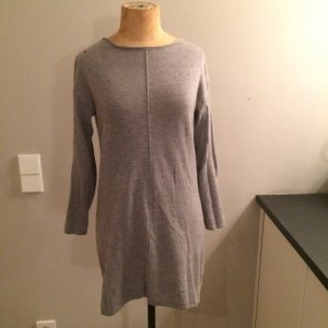 ZARA Knit Cashmere Kleid grau Gr. S top
