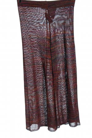 Zara Knit Culottes volledige print casual uitstraling