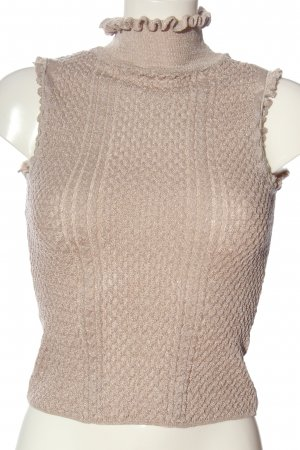 Zara Knit Fijn gebreide cardigan wolwit casual uitstraling