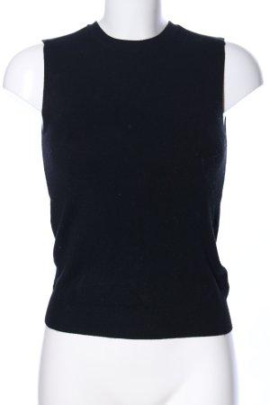 Zara Knit Cárdigan de punto fino negro estilo «business»