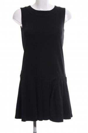 Zara Knit Jerseykleid schwarz Business-Look