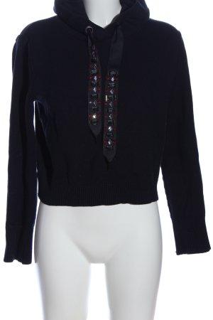 Zara Knit Kapuzensweatshirt