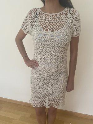 Zara Knit Strandjurk licht beige