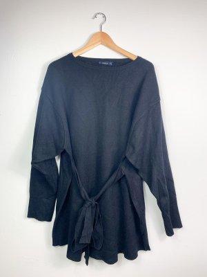 Zara Knit-Kleid mit Bindegürtel