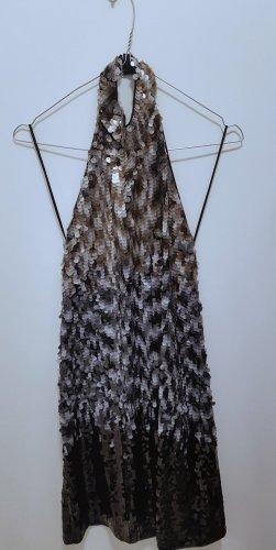Zara Knit Kleid mit Pailetten