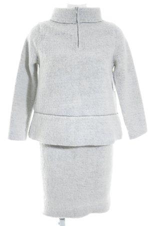 Zara Knit Kostüm wollweiß extravaganter Stil