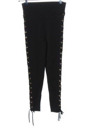 Zara Knit Leggings schwarz Casual-Look