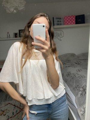 Zara Gebreid shirt veelkleurig
