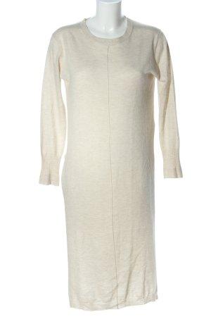 Zara Knit Pull long blanc cassé moucheté style décontracté
