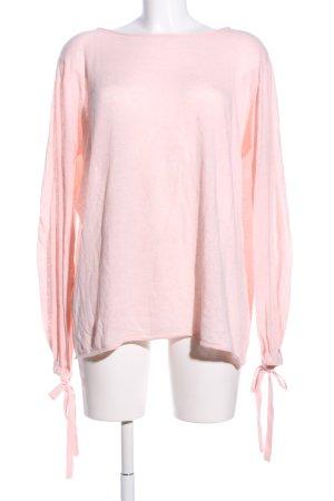 Zara Knit Longsleeve pink Casual-Look