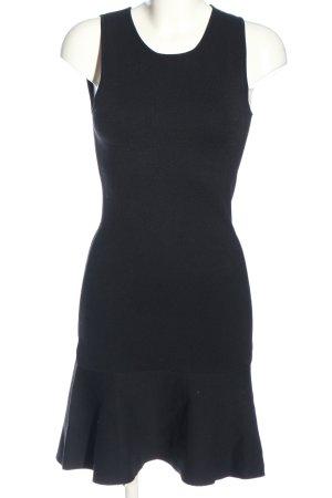 Zara Knit Minikleid schwarz Casual-Look